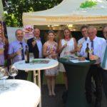 Eröffnung des Naturparkmarktes in Oberderdingen am 10.Juli 2016