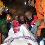Teilnahme an der Rettungsübung der Höhlenretter, in der Schillerhöhle bei Wittlingen (Bad Urach), am 30. September 2017.