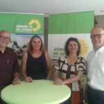 Treffen mit dem THW und meiner Fraktionskollegin Brigitte Lösch