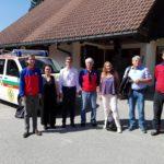 Treffen mit der Bergwacht auf dem Feldberg am 13. September 2016