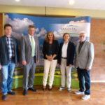 Zu Besuch bei Bürgermeister Hintermeyer in Kraichtal