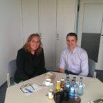 Treffen mit Philipp Keil, Geschäftsführer der SEZ Baden-Württemberg