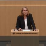 meine erste Rede im Landtag von Baden-Württemberg am 9. November 2016.