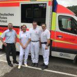 """Einen sehr eindrücklichen und lehreichen Tag verbrachte ich mit dem """"T12"""" bei der 12 Stundenschicht beim Rettungsdienst Esslingen, am 8. Juli 2017."""