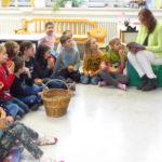 Zum bundesweiten Vorlesetag am 17. November 2017 zu Besuch an der Markgrafen-Gemeinschaftsschule in Kraichtal-Münzesheim.