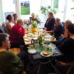 Interessante Gespräche führten die Teilnehmerinnen beim Frauenfrühstück zum internationalen Frauentag und dem Jubiläumsjahr 100 Jahre Frauenwahlrecht in Deutschland im Wahlkreisbüro der Landtagsabgeordneten Andrea Schwarz.