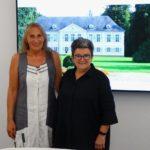 Andrea Schwarz MdL zu Besuch bei der Oberbürgermeisterin von Stutensee, Petra Becker.