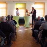 Andreas Schwarz MdL berichtet über die Ansätze der Fraktion Bündnis 90/Die Grünen im Landtag von Baden-Württemberg auf Fragen wie zum Beispiel die Problematik der Wohnungsnot..